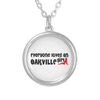 Everybody loves a Oakville Girl Silver Plated Necklace