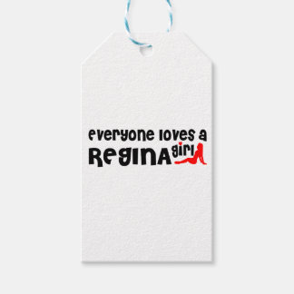 Everybody loves a Regina Girl Gift Tags
