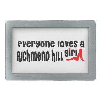 Everybody loves a Richmond Girl Belt Buckles
