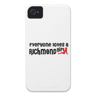 Everybody loves a Richmond Hill Girl iPhone 4 Case-Mate Cases