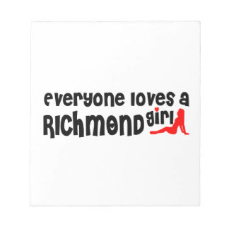 Everybody loves a Richmond Hill Girl Notepad