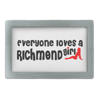 Everybody loves a Richmond Hill Girl Rectangular Belt Buckles