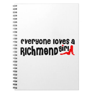 Everybody loves a Richmond Hill Girl Spiral Notebook
