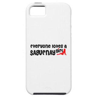 Everybody loves a Saguenay Girl Tough iPhone 5 Case