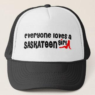 Everybody loves a Saskatoon Girl Trucker Hat