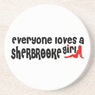 Everybody loves a Sherbrooke Girl Coaster