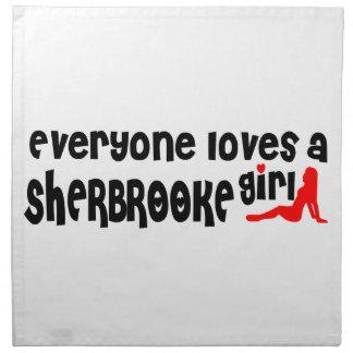 Everybody loves a Sherbrooke Girl Napkin
