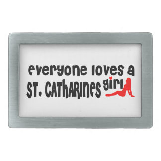 Everybody loves a St. Catharines Girl Belt Buckle