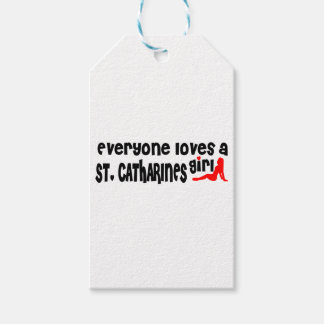 Everybody loves a St. Catharines Girl Gift Tags