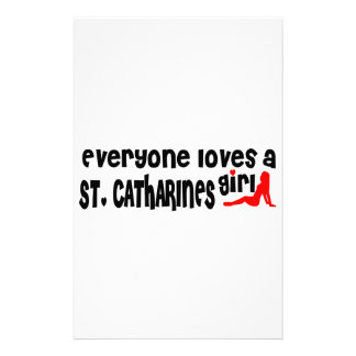Everybody loves a St. Catharines Girl Stationery