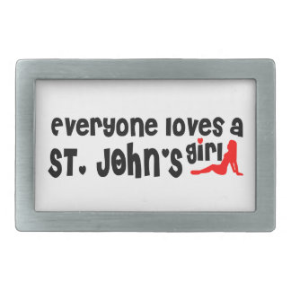 Everybody loves a St. John's Girl Belt Buckles
