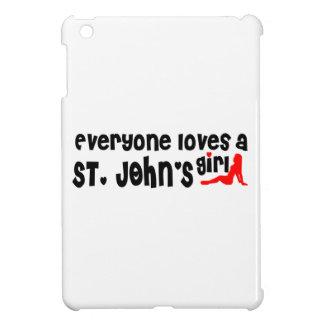 Everybody loves a St. John's Girl iPad Mini Covers