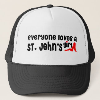 Everybody loves a St. John's Girl Trucker Hat