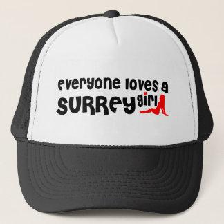 Everybody loves a Surrey Girl Trucker Hat