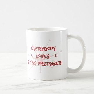 Everybody Loves A Tax Preparer Coffee Mugs