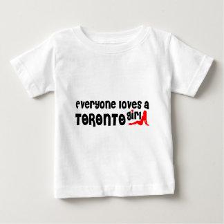 Everybody loves a Toronto Girl Baby T-Shirt