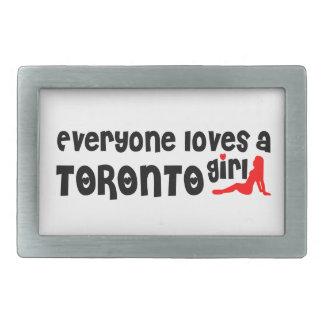 Everybody loves a Toronto Girl Belt Buckles