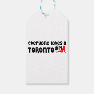 Everybody loves a Toronto Girl Gift Tags