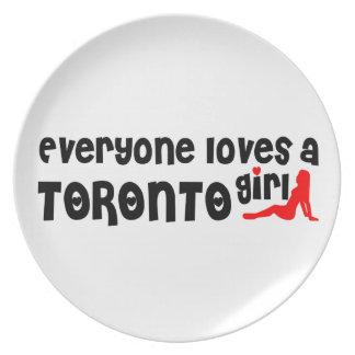 Everybody loves a Toronto Girl Plate