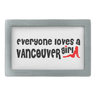 Everybody loves a Vancouver Girl Belt Buckles