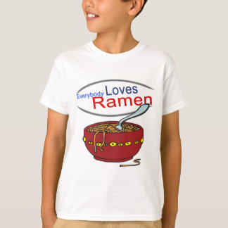 Everybody Loves Ramen Parody T-shirt