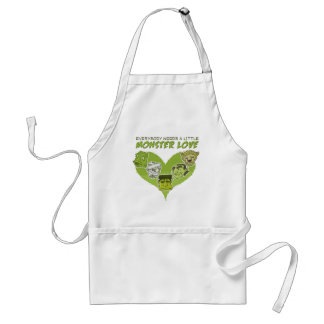 Everybody Needs a Little Monster Love Standard Apron