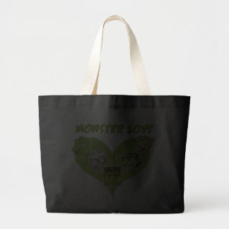 Everybody Needs A Little Monster Love Tote Bags