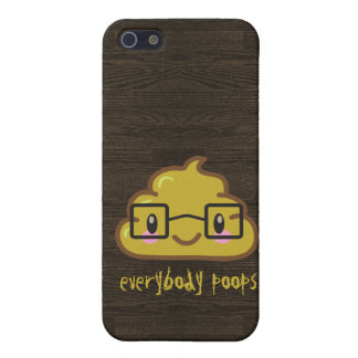 Everybody Poops Case For iPhone 5/5S