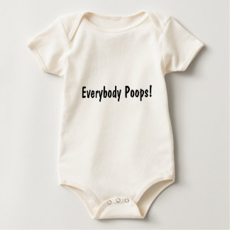 Everybody Poops! For Infants Baby Bodysuit