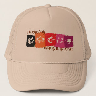 Everybody Wants to Be a Cat Trucker Hat