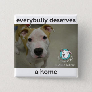 Everybully - simon 15 cm square badge