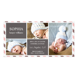 EVERYDAY BABY | BIRTH ANNOUNCEMENT CUSTOMIZED PHOTO CARD