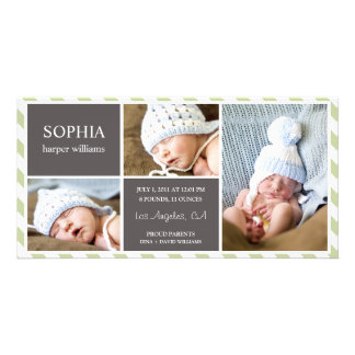 EVERYDAY BABY | BIRTH ANNOUNCEMENT PERSONALISED PHOTO CARD