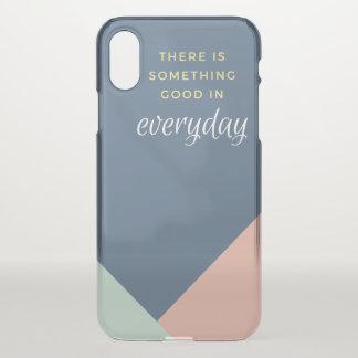 Everyday Color Block Design iPhone X Case