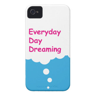 Everyday Day Dreaming Funny iPhone 4 Case