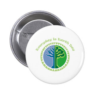 Everyday is Earth Day Button