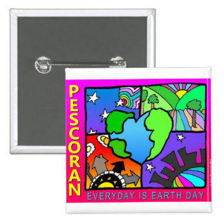 Everyday is Earth Day Pin