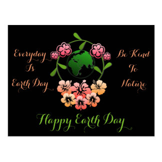 """Everyday is Earth Day"" Postcard. Postcard"