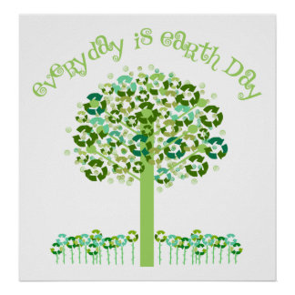 Everyday Is Earth Day Poster