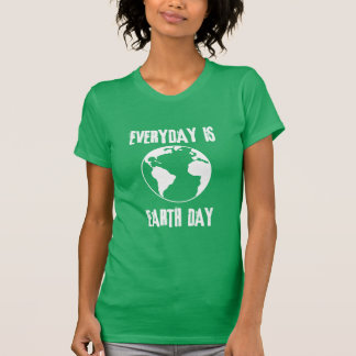 Everyday is Earth Day Tshirts