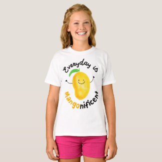 Everyday is Mango nificent - Girls T-shirt