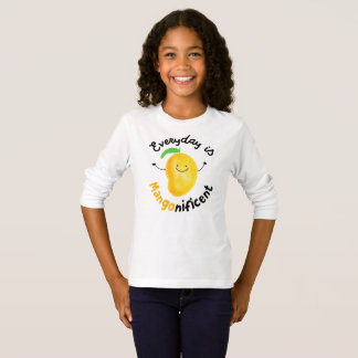 Everyday is Mango nificent - Girls Tshirt