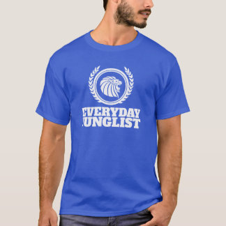 Everyday Junglist T-Shirt - DNB Drum & Bass Blue