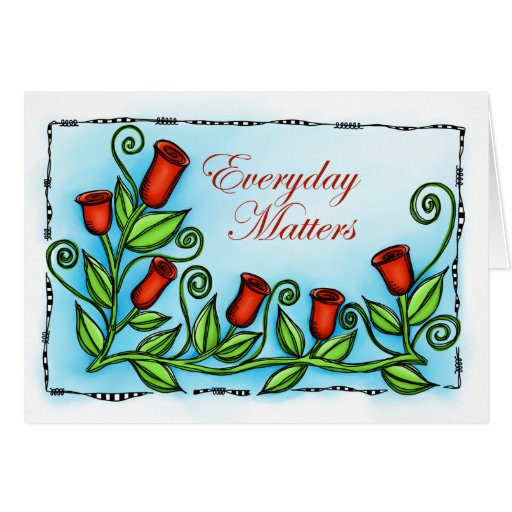 Everyday Matters Card