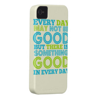 Everyday May Not Be Good iPhone 4 Case-Mate Case