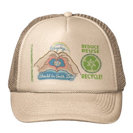Everyday Should Be Earth Day Trucker Hats
