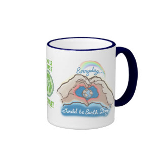 Everyday Should Be Earth Day Mugs