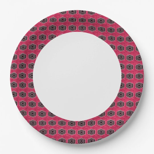 EVERYDAY-Stylish-Rose-Grey-Mod_Dinnerware Paper Plate