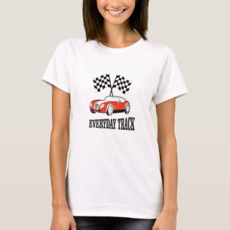 everyday track red T-Shirt