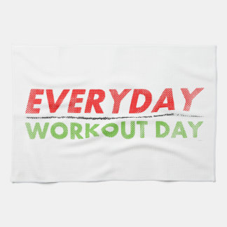 Everyday Workout Day Kitchen Towels